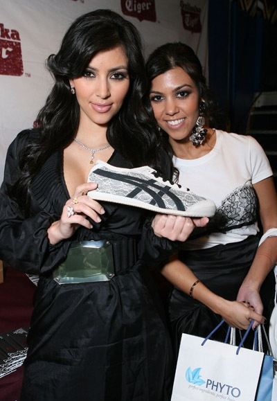 Kim Kardashian and Kourtney